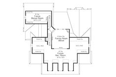Traditional Style House Plan - 3 Beds 2 Baths 1961 Sq/Ft Plan #51-352 Floor Plan - Other Floor Plan - Houseplans.com