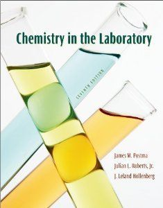 Free Download Chemistry In The Laboratory (7th Edition) written by James M. Postma, Julian L. Roberts and J. Leland Hollenberg http://chemistry.com.pk/books/chemistry-in-the-laboratory/