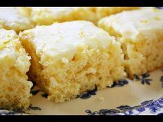 Easy Lemon Brownies (Healthy Lemon Brownies - No butter)