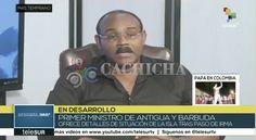 Primer Ministro De Antigua Y Barbuda Muestra Al Mundo Imágenes De La Destrucción Casi Total De La Isla De Barbuda ( Imágenes Fuertes)