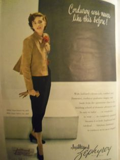 1948 fashion ad. I hope I look like this when I am in the classroom lol