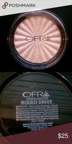 Beautiful Ofra Highlighter in Rodeo Drive?New?? Brand new. Never swatched. Perfect for that summer glow. Free gift with purchase. Ofra Makeup Luminizer