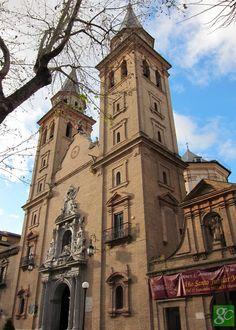 Basílica de la Virgen de las Angustias Granada. Spain