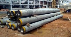 pondasi-tiang-pancang-pracetak-precast-megacon-beton-com-12 Concrete, Wood, Woodwind Instrument, Timber Wood, Trees