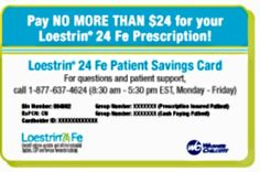When it comes about birth control then loestrin 24 coupon is one that is most useful for you. And it save your money.
