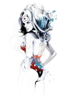 Ultimate Wonder Woman Piece found by my Pinterest friend Roderick....breathtaking!