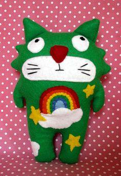 Rainbow Cat by *LilithProducciones*