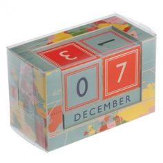 Vintage World Block Desk Calendar (Janine) $25.00 larkmade.com.au