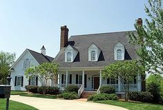 Colonial   Cottage   Country   Farmhouse  Traditional   House Plan 85532