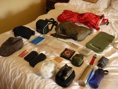 Most of what I will bring in my day pack for ascending Galtee Mor (its was a hot, breezy day). (photo: Sean Fagan).