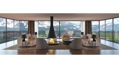 moderne Wohnzimmer von 3Deko Windows, Curtains, Home Decor, 3d, Dibujo, Modern Lounge, Open Spaces, Houses, Living Room