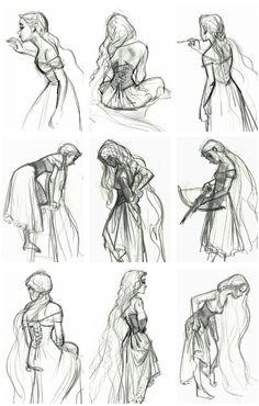 Rapunzel concept art - Jin Kim