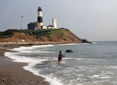 Montauk Lighthouse New York  http://www.thelighthousepeople.com