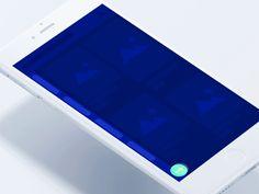 """via Muzli design inspiration. """"Mobile menu inspiration"""" is published by Muzli in Muzli - Design Inspiration. Mobile Application Design, Mobile Ui Design, Best Ui Design, Ux Design, Navigation Design, Interface Design, User Interface, Ui Design Inspiration, Daily Inspiration"""