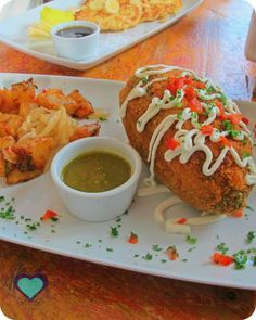 Breakfast Chilies Relleno at Mango