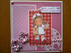 StampScrapandSmile.blogspot.nl handmade by me!!! Nurse Tilda