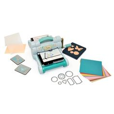 Sizzix Big Shot Starter Kit (Powder Blue & Teal) $159.99  if investment to be made for continued generational additions, this might be it. MIGHT