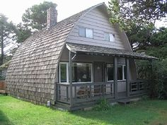 two story quonset hut?  would make a cute guest house.