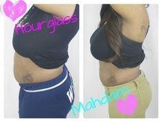 24hr Challenge - ...to lose belly fat with Hourglass Mahdam Corsets