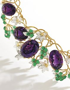 Diamond 'Vigne' Necklace, Schlumberger for Tiffany & Co