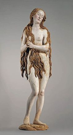 This work by 16th-century German sculptor Gregor Erhardt, though Gothic in inspiration, reflects the Renaissance ideal of physical beauty.