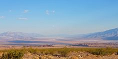 View of Death Valley, Mojave Desert, Nevada, USA