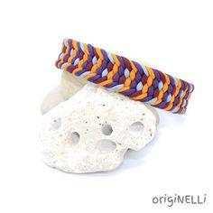 paracord Hundehalsband minu Jewelry, Glass Beads, Braid, Appliques, Handmade, Handarbeit, Jewlery, Jewels, Jewerly