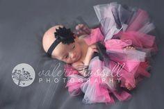 Hot pink, black, and white tutu: Newborn tutu, tulle tutu, infant tutu, baby tutu, baby girl tutu, girl tutu, ballerina, princess tutu. $13.00, via Etsy.