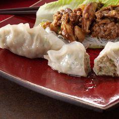 Asian Chicken Dumplings Recipe