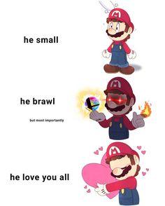 Who is mario??? by mcblurryz Kirby Memes, Love You All, Super Mario Bros, Make Sense, Deviantart, Fictional Characters, Beast, Nintendo, Instagram