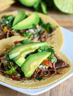 For Dinner Tonight: Savory Slow Cooked Steak Tacos - recipe