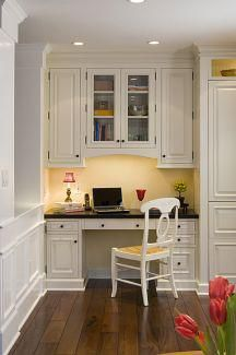 office in kitchen...i have had one almost just like this one in a previous home...now I want something funkier...