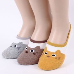 Today kitten 7pairs=1pack women woman invisible footie socks made in korea USfr #aries #Casual