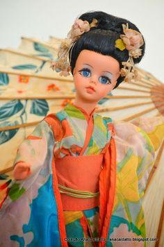 Ana Caldatto : Boneca Susi Japonesa de 1971