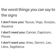 "Astrology Signs on Instagram: ""The worst things you can say to the... ❤ liked on Polyvore featuring home, home decor, wall art, astrology wall art, zodiac signs, astrological signs, zodiac home decor and zodiac wall art"