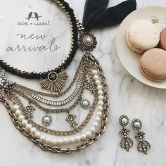 Looking for great gifts they'll remember for a lifetime? Explore the Souviens capsule of mixed-media designs featuring pearls, chains   military touches — on my boutique now!