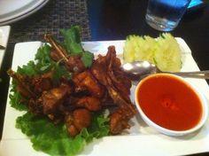 CRVE worthy - Garlic Frog Legs @ Lers Ros Thai, SF