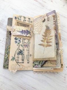 Travel Journal Pages, Book Journal, Bullet Journal, Garden Journal, Journal Covers, Handmade Journals, Handmade Books, Journal Paper, Art Journals