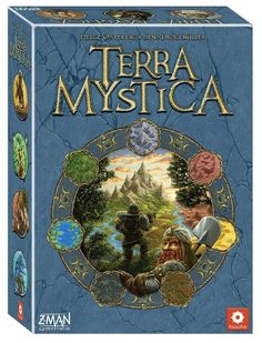 Z-Man Games Terra Mystica Board Game (Multi-Colour)