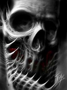 Original still artwork by Toxyc Animated motion by Steampunkd Studio . Original still artwork by Toxyc Animated motion by Steampunkd Studio . Skull Tattoo Design, Skull Design, Skull Tattoos, Body Art Tattoos, Dark Fantasy Art, Grim Reaper Art, Dark Art Tattoo, Totenkopf Tattoos, Satanic Art