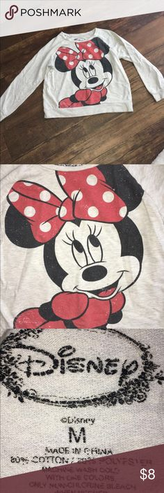 Minnie Mouse Graphic Sweater Minnie Mouse Graphic Sweater Disney Tops Sweatshirts & Hoodies