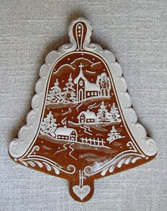 Today we are looking at Moravian and Bohemian gingerbread designs from the Czech Republic. Back home, gingerbread is eaten year round and beautifully decorated cookies are given on all occasions. Spice Cookies, Fancy Cookies, Cute Cookies, Royal Icing Cookies, Cupcake Cookies, Gingerbread Cake, Christmas Gingerbread, Christmas Treats, Christmas Cookies