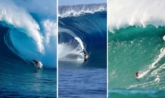 the beauty that can kill you  The best big wave surf spots in the world have a few things in common. They're only suited for experienced surfers, they only break once in a while and they can kill a rider in seconds.