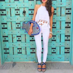 Ready for summer | Kate Spade clutch via Southern Curls & Pearls