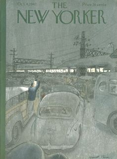 The New Yorker - Saturday, October 4, 1947 - Issue # 1181 - Vol. 23 - N° 33 - Cover by : Garrett Price