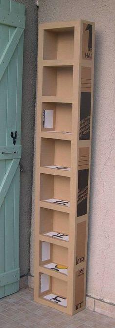 Tutorial: carton board furniture