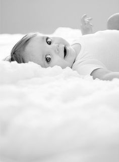 Baby Pic #clouds #black and white