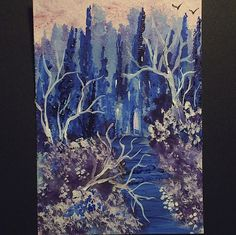 aceo fantasy original by teabreaks on Etsy, $5.00