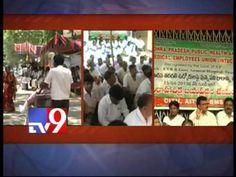 Employees strike in Ruya Hospital , Tirupati