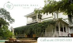 Royston Hall is a lovely Guest House located in Port Shepstone on the lower South Coast KZN that offer some truly amazing experiences! Walking In Nature, Bird Watching, Relax, Mansions, House Styles, Outdoor Decor, Life, Beautiful, Forget
